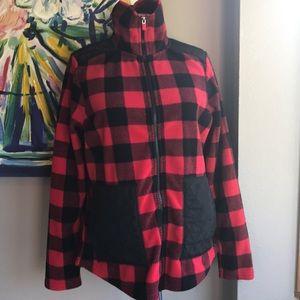 Chaps Sport Fleece Jacket.   Preloved   Medium